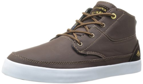 Emerica , Baskets pour homme Marron brown/white/brown Marron - brown/white/brown