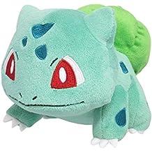 """Sanei Pokemon All Star Series PP17 Bulbasaur Stuffed Plush, 4"""""""