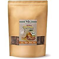 Biojoy Peras desecadas bío   100% trozos de pera sin azúcar añadido y óxido de azufre   frutas desecadas sin aditivos en calidad bío   empaquetadas en envases con cremallera (0,5 kg)