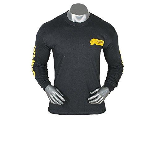 Voodoo Tactical T- Shirt Long Sleeve Skull Sniper Scharfschütze (Black, XL)