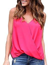 af4e793594 Amazon.it: gilet donna - Bluse e camicie / T-shirt, top e bluse ...