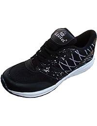 Galvin Sports Women's Performance Walking/ Running Sports Shoes - Black