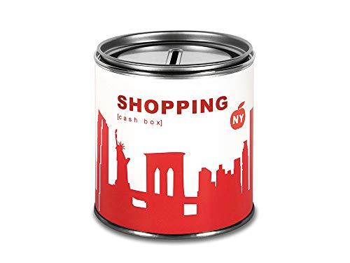 "Roja Hucha nueva YORK ""Shopping"" - CITY CASH BOX de 44spaces"