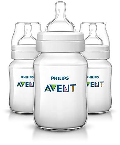 Philips Avent Classic+ Feeding Bottle SCF563/37 (260ml/9oz) x 3
