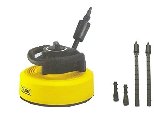 DURO Flächenreiniger Terassenreiniger mit Adapter für Hochdruckreiniger 150 bar max.