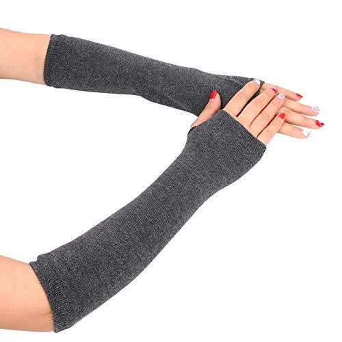 LoveLeiter Damen Baumwollhandschuhe Handschuhe Frau Fingerless Dehnbar Armlinge -