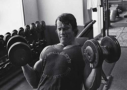 Poster Arnold Schwarzenegger Mister Univers Bodybuilding légende Wall Art 01
