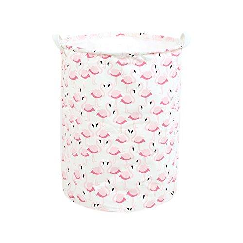 Daorier 1 Pcs Sac de Rangement en Toile Cordon Enfants Vêtements de Bébé Jouet Blanchisserie Garage Sac de Panier 35*45 cm (Oiseau)