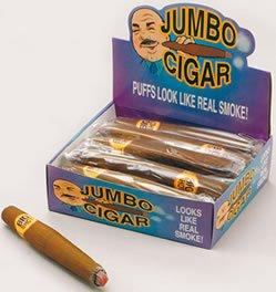 Preisvergleich Produktbild Bristol Novelty GJ290 Jumbo Zigarre Accessoire,  Braun,  unisex-adult,  Einheitsgröße