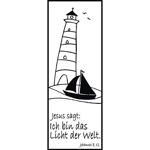 Rayher Hobby RAYHER 28807000, H.- Stempel Licht der Welt, 4 x 10 cm, Artikel 27938 (Uk Tauchen Licht)