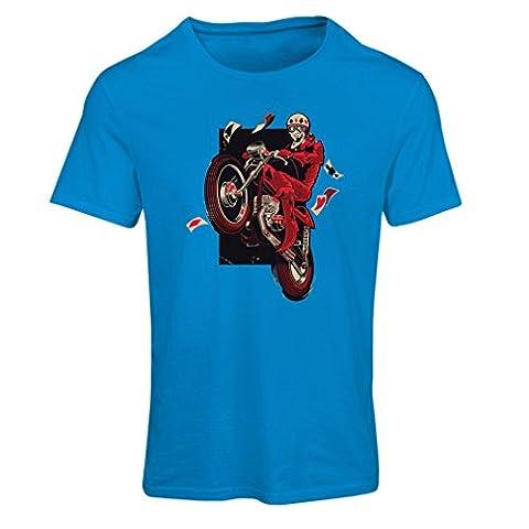 T-shirt femme Motocycliste - Vêtements de moto, vêtements rétro (Large