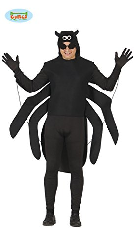 Imagen de disfraz de araña negra para adulto  l