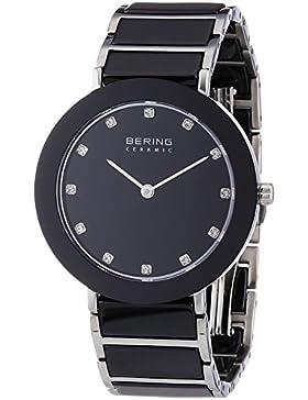 Bering Time Damen-Armbanduhr XS Part Ceramic Analog Quarz verschiedene Materialien 11435-AZ2