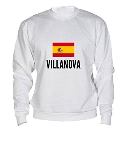 Felpa Villanova city White