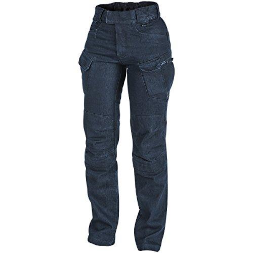 Helikon Damen UTP Hose Denim Blau Größe 32/34 (Spandex Hosen Denim)