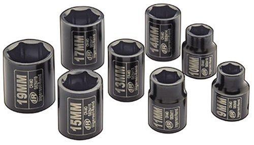 Ingersoll Rand IRTSK3M8 .37 pouces - 8 pièces-Coffret à douilles métriques