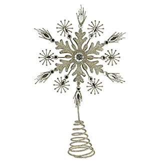 Festive-Productions-Christbaumspitze-champagner-gold-Star-24-cm-p007445