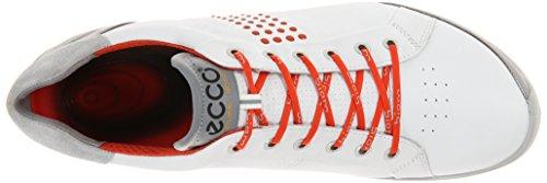 ECCO Men's Biom Hybrid 2 Golf Shoe,White,40 EU/6-6.5 M US