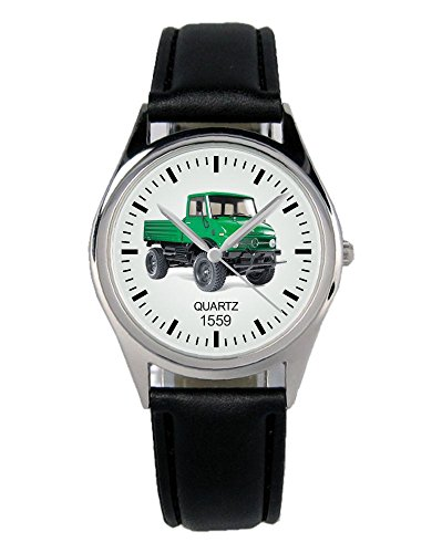 Geschenk für Unimog Oldtimer Fans Fahrer Kiesenberg Uhr B-1559