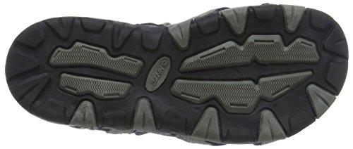 Hi-Tec Unisex-Kinder Gt Strap Junior Sandalen Trekking-& Wanderschuhe Grau (Cool Grey/majolica Blue/limoncello 051)