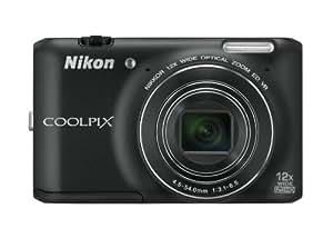 Nikon COOLPIX S6400 Compact Digital Camera - Black (16MP, 12x Optical Zoom) 3 inch LCD