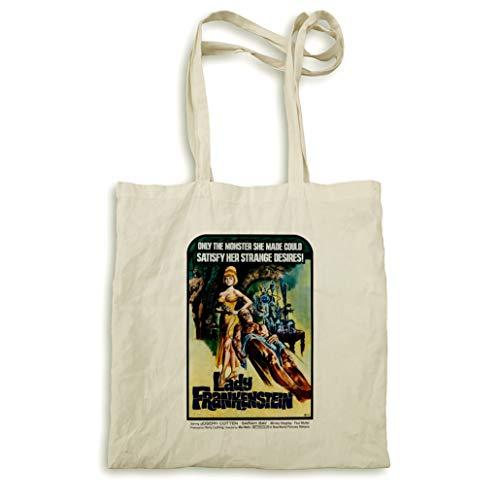 Lady Frankenstein natur Tasche - Lady Movie Poster