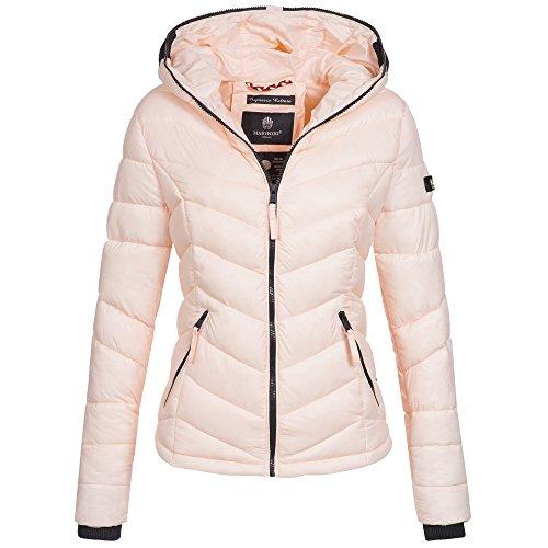 Marikoo Kuala Damen Jacke Steppjacke Übergangsjacke gesteppt XS-XXL 15Farben, Größe:S /...