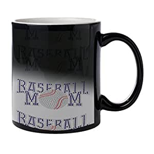 Baseball Mom chaleur Morph Mug Tasse à café