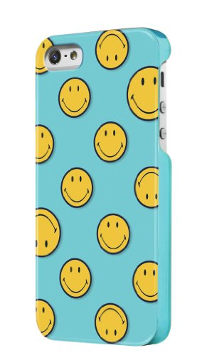 Case Scenario Smiley Clip-On Schutzhülle Case Cover für iPhone 4 und iPhone 4s - Have a Nice Day Türkis
