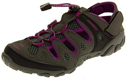 Basculer fixation sandales des et Northwest Territory violet Gris Atlanta marche Femmes Tqw0XYI0