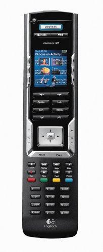 Logitech Harmony 785 Universal-Fernbedienung (LC-Display, USB-Kabel) schwarz - Harmony-universal-fernbedienung