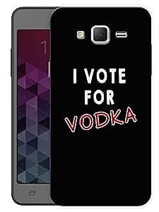 "Humor Gang I Vote For Vodka Printed Designer Mobile Back Cover For ""Samsung Galaxy Mega 5.8"" (3D, Matte Finish, Premium Quality, Protective Snap On Slim Hard Phone Case, Multi Color)"