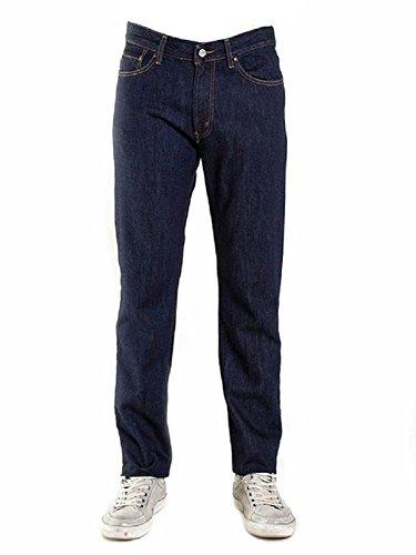 Jeans uomo carrera art.700 regular denim 5 tasche 3 colori (blu scuro - 48)