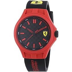 Ferrari-Wrist Watch, Analog Quartz, Silicone