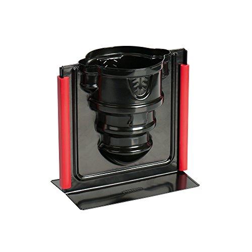 Kaiser Inspiration 3D Vollbackform Burg, 17 x 10 x 16 cm antihaftbeschichtet Auslaufschutz Silikonklammern gleichmäßige Bräunung