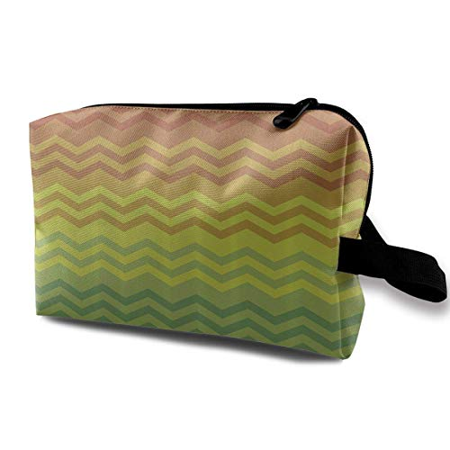 Reise-hängende Kosmetiktaschen Rainbow Color Wave Multi-Functional Toiletry Makeup Organizer pretty makeup bags - Hawaiian Wave