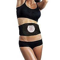 mothermed EMS Waist Trimmer EMS ABS Fitness Belt Electronic Abdominal Muscle Stimulator Stomach Workout Toning Massager Trainer Belt for Arm Abdomen Thigh Leg Butt