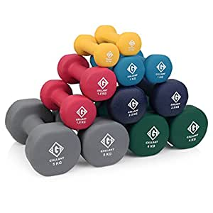 Gallant Neoprene Hand Dumbbells Weights Fitness Home Gym