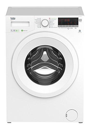 Beko WYA 71683 PTLE Waschmaschine FL / A+++ / 173 kWh/Jahr / 1600 UpM / 7 kg / 10560 l/Jahr / Multifunktionsdisplay / weiß