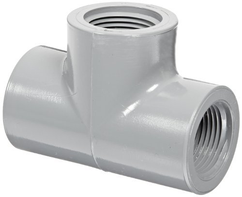 Cpvc Tee (Spears 805-C Series CPVC Pipe Fitting, Tee, Schedule 80, 3/4 NPT Female by Spears Manufacturing)