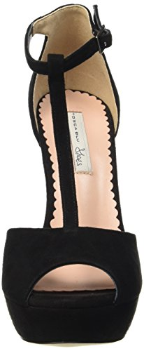 Tosca Blu Zaffiro, Chaussures à talons avec bride style salomés femme Noir - Schwarz (NERO C99)