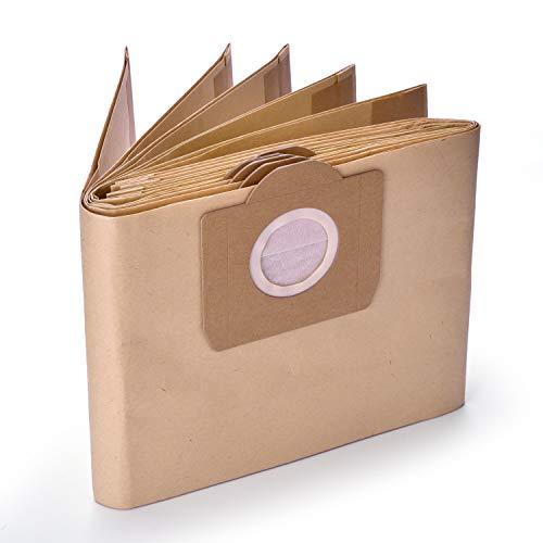 10 Pack K?rcher 6.959-130.0 Papierfilter Staubbeutel A 2201/2204/2504 f¨¹r Karcher WD3 WD3P Wet & Dry Staubsauger Ersatz - GL Gear