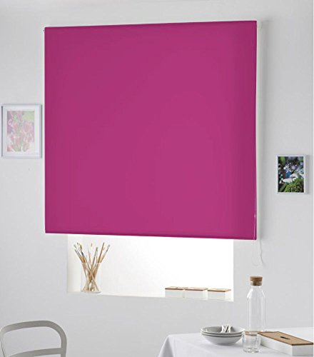 Re-Star PERSIANA Estor Enrollable Liso (160X175, Rosa Fucsia)