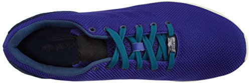 adidas ZX Flux Weave Unisex-Erwachsene Sneakers Blau (Dark Blue/Night Flash S15/Rich Blue F14)