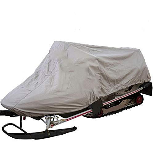 Currentiz Motorrad Abdeckplane Wasserdicht Staubdicht Abdeckplane Outdoor Ski Snowmobile Cover Passt Schneemobile 45L X 51W X 48H