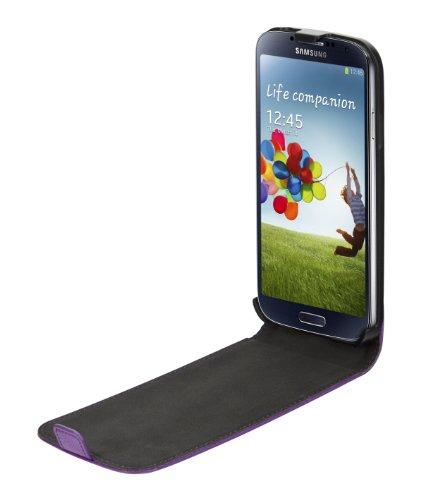 Xqisit-Cover con linguetta per Samsung Galaxy S4, colore: verde Viola