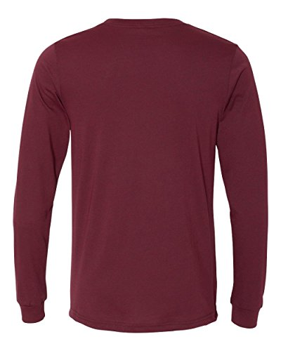 Bella Canvas Herren T-Shirt Heather Cardinal