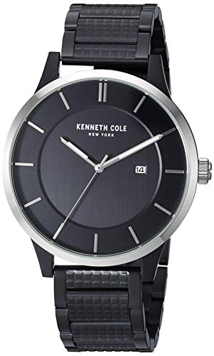 Kenneth Cole New York Men's Analog Quartz Watch with Stainless-Steel Strap KC50557001