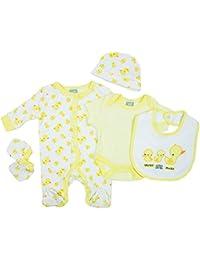 Baby Corner Jungen Mädchen Baby Mütze Panda Weiß Größe 0-6 Monate