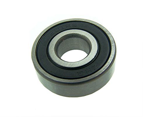 Rillenkugellager 6201-2RS 12x32x10 mm für WANGYE BENI 50 - WY50QT-72 (Ben 10 Roller)